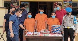 Polisi Gerebek Judi Dadu Guncang Beromset Puluhan Juta Rupiah di Muba